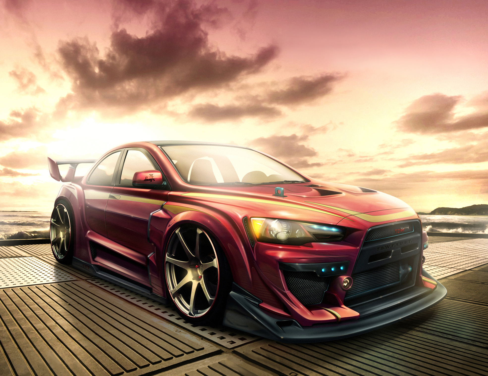 Mitsubishi Evo Wallpaper Wallpapersafari