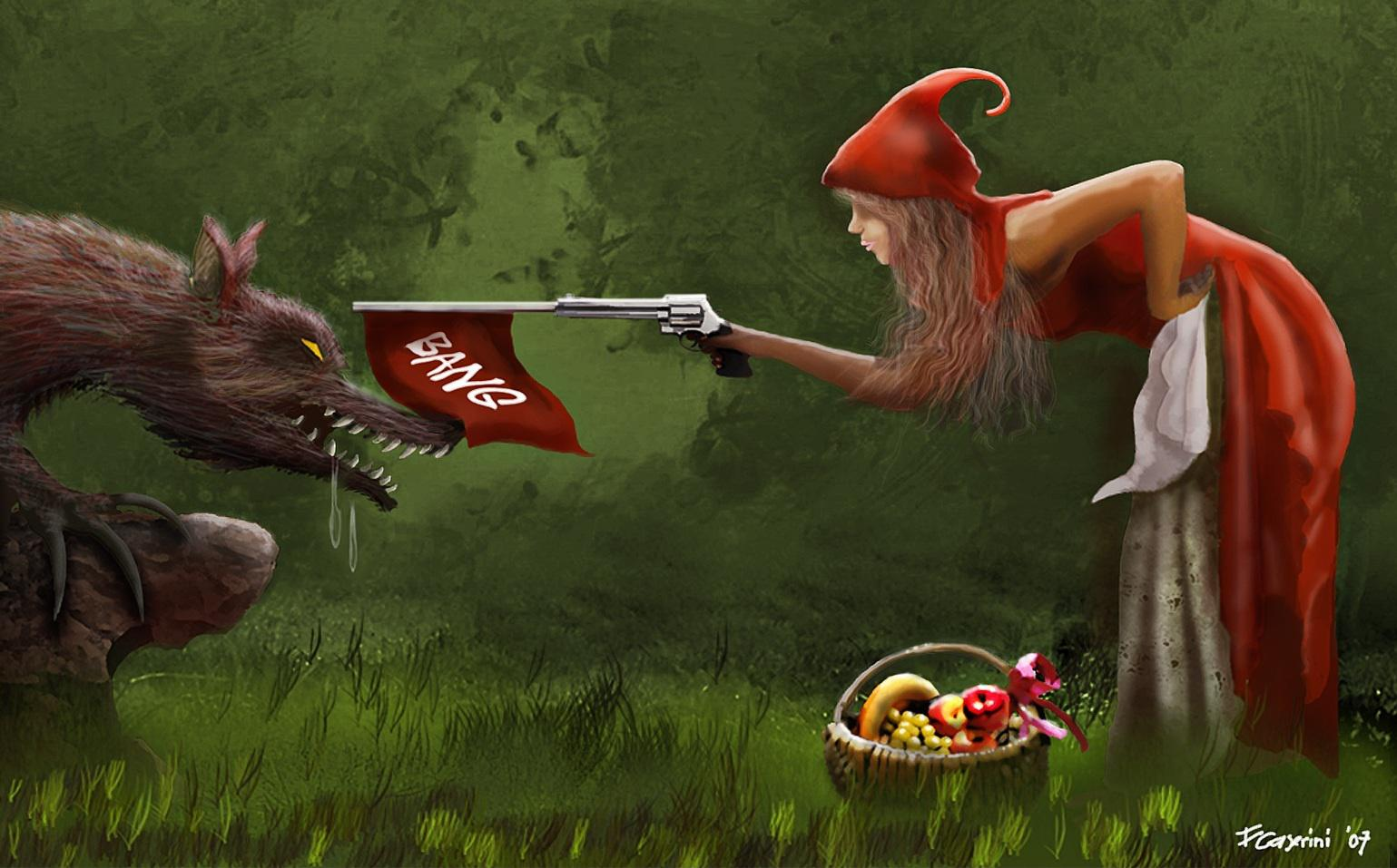 Free Download Little Red Riding Hood Hq Wallpaper 110456 1539x957
