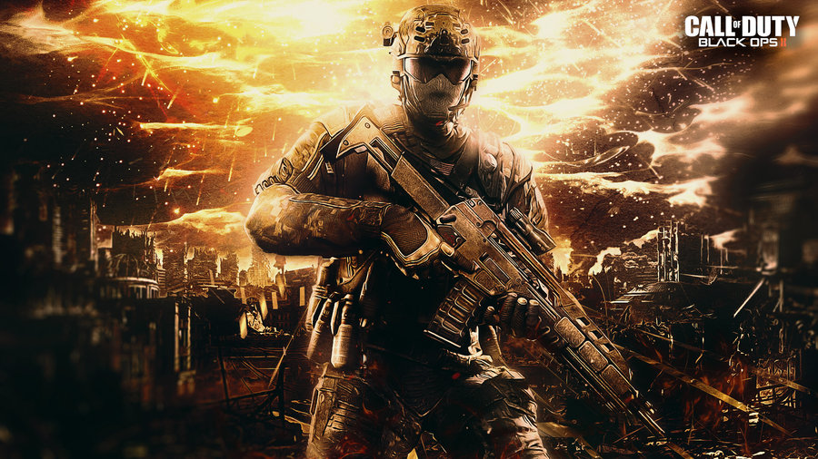 Call of duty Black Ops 2 Wallpaper by TheSyanArt 900x506