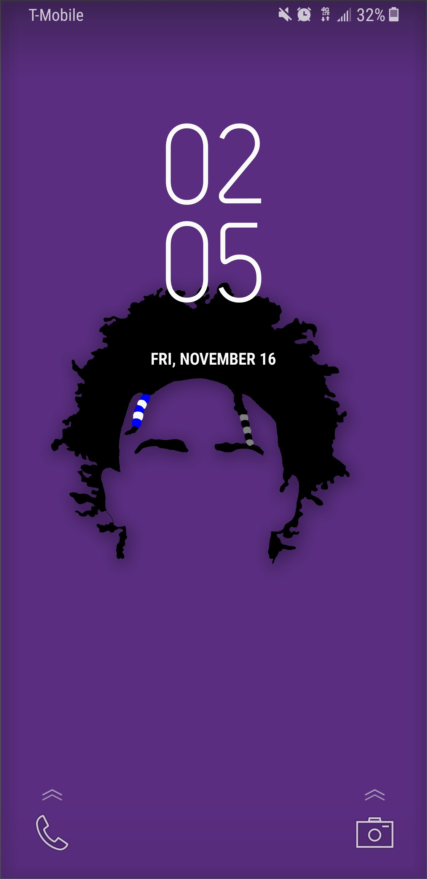 Got bored at work and made a DeAaron Fox lock screen Might make 1440x2960