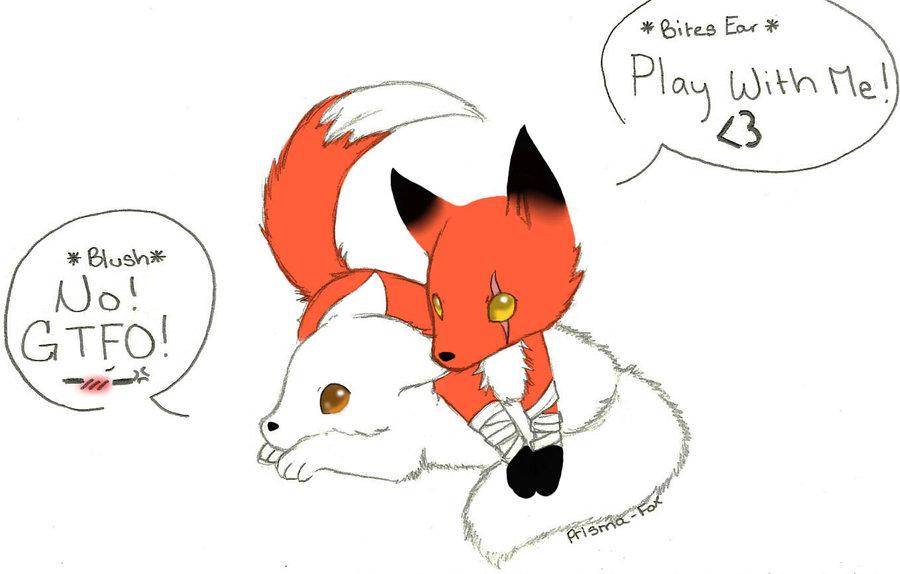 cute baby fox anime Cute Fox Chibi HD Wallpaper For Desktop Background 900x574