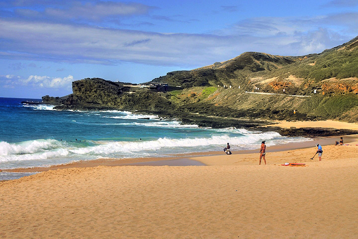 Hawaii beach picture 2   S andy Beach in Hawaii President Obamas 720x480