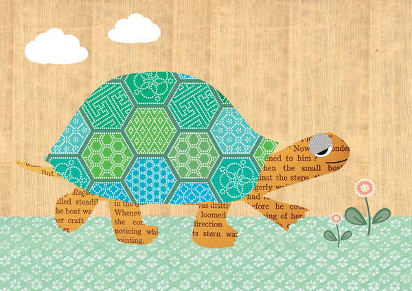 Cute Turtle Iphone Wallpaper Cute turtle collage on wooden 600x424