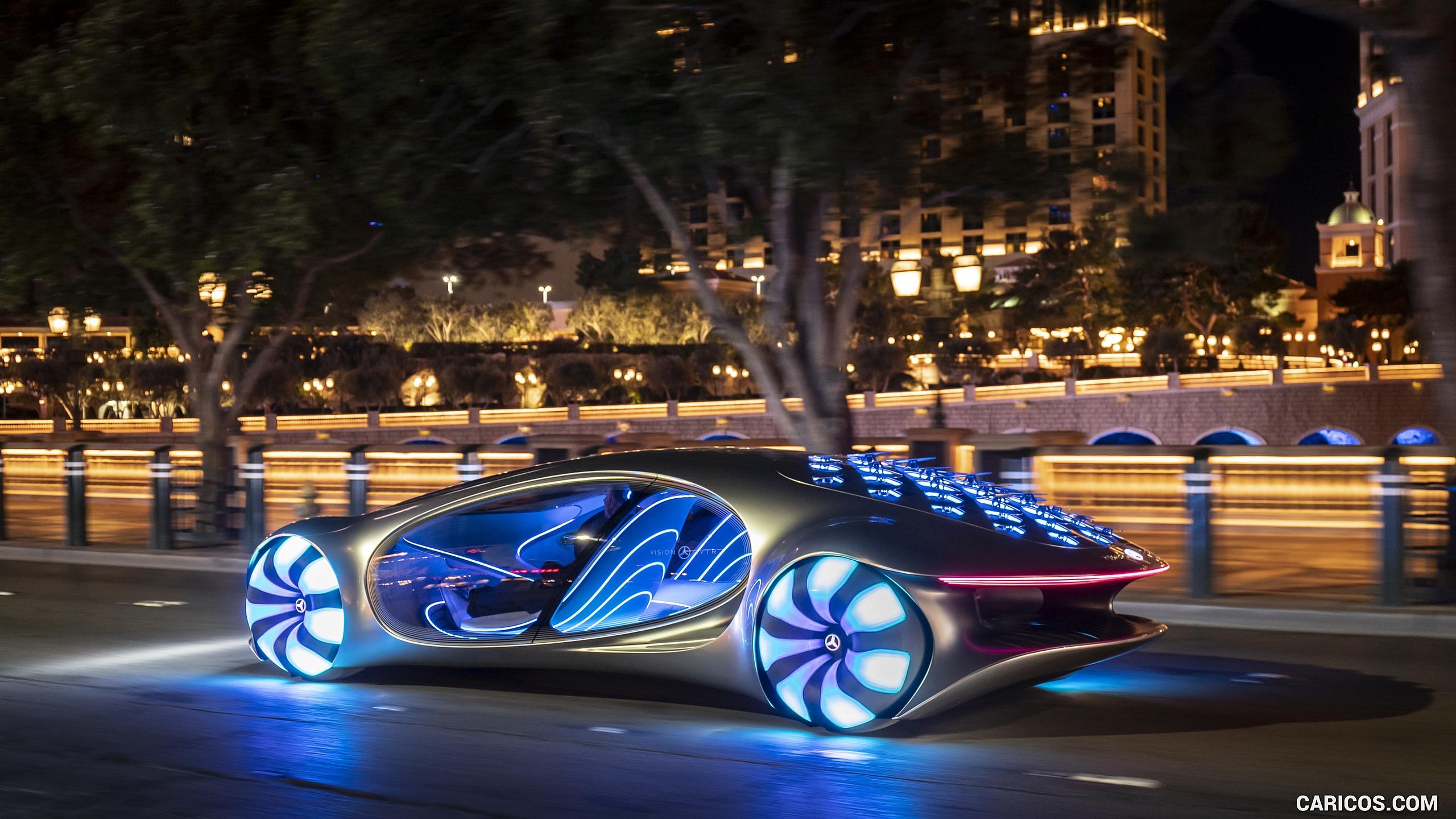 2020 Mercedes Benz VISION AVTR Concept in Las Vegas   Rear Three 2560x1440