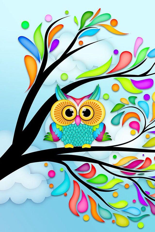 Owl wallpaper Wallpapers phone stuff Pinterest 640x960
