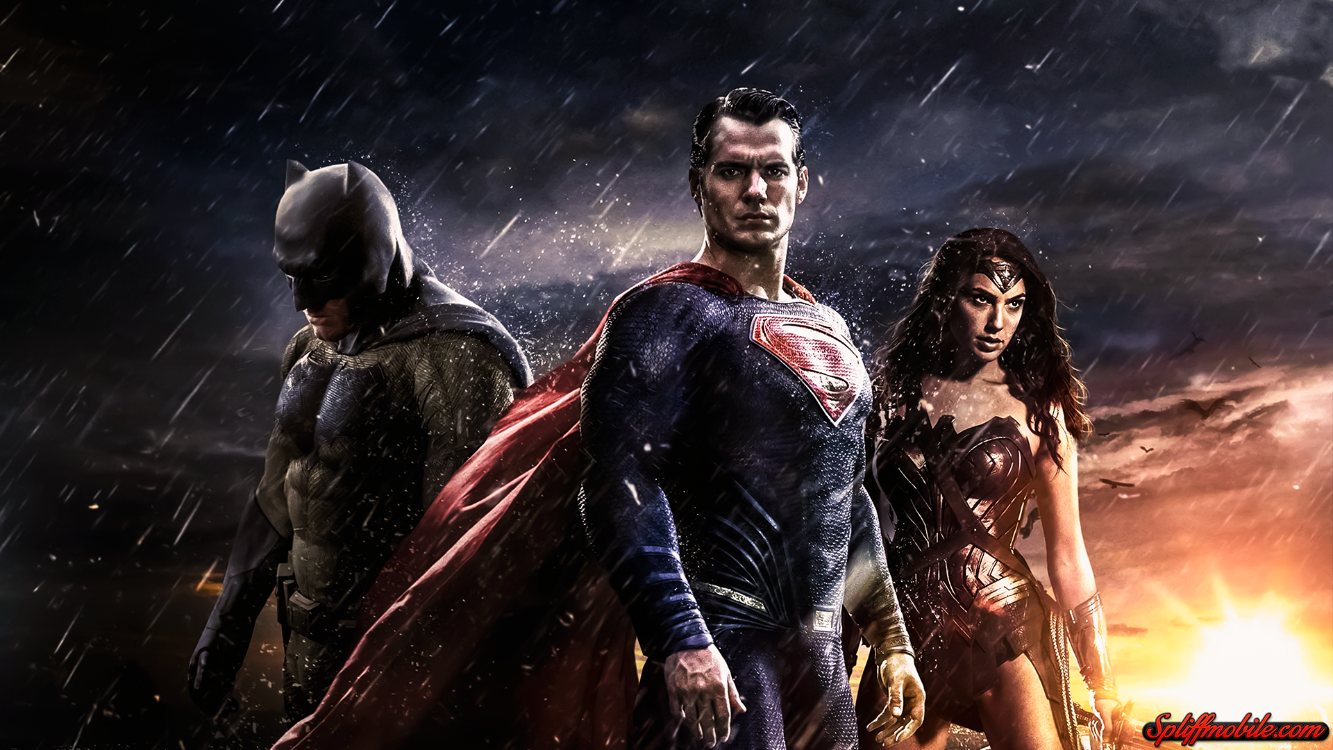 HD Batman vs Superman Wallpaper 1920x1080