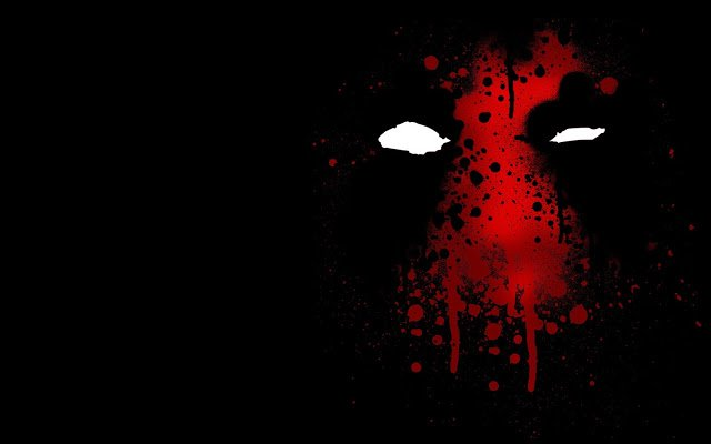 Deadpool Logo Marvel Hero a187 HD Wallpaper 640x400