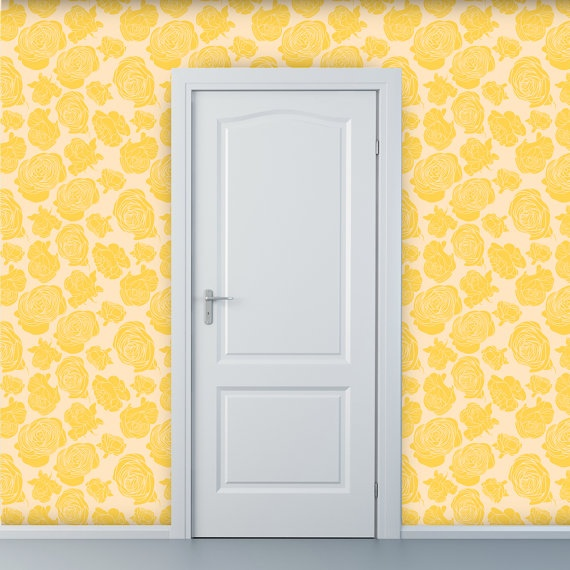 Removable wallpaperfor an accent wall in Ellens nursery Need it 570x570