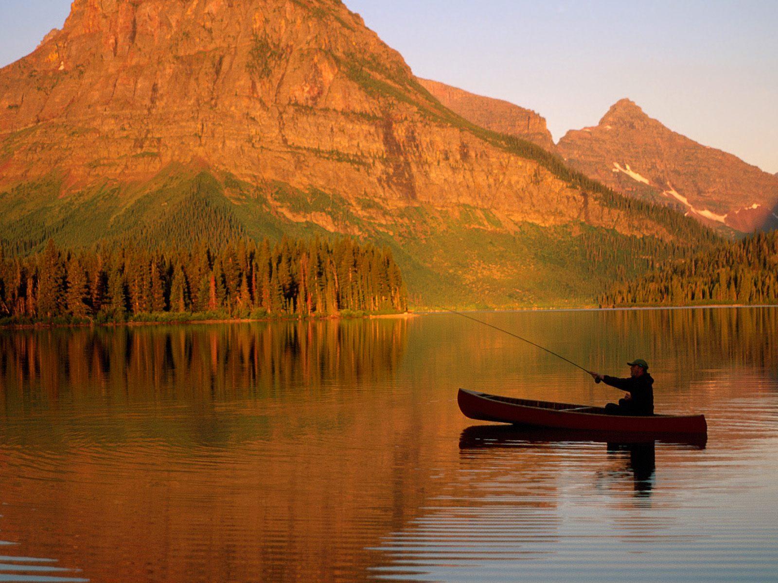 National Park Montana   Nature Wallpaper Image featuring Mountains 1600x1200