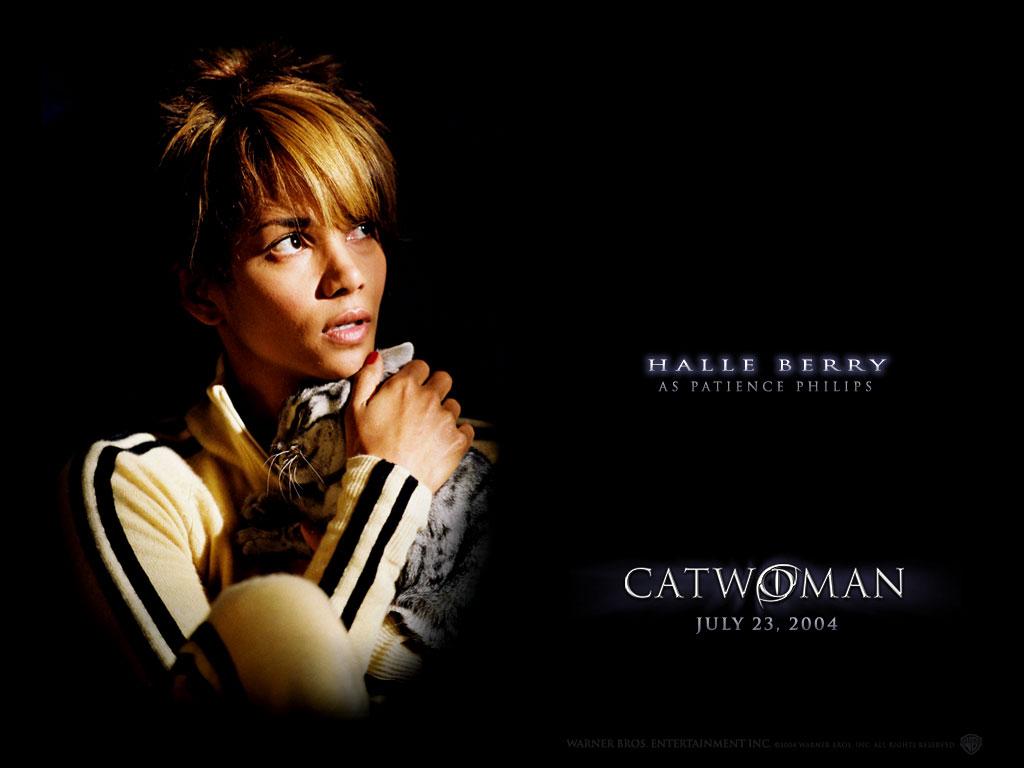 KapanLagicom Wallpaper   Catwoman   Halle Berry 1024x768