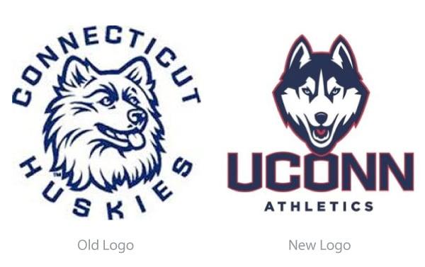 New UConn Husky Joins the Team on LogoLoungecom 600x377