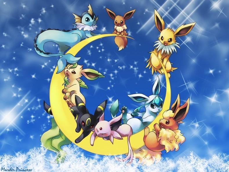 Pokemon   eevee evolution 790x593