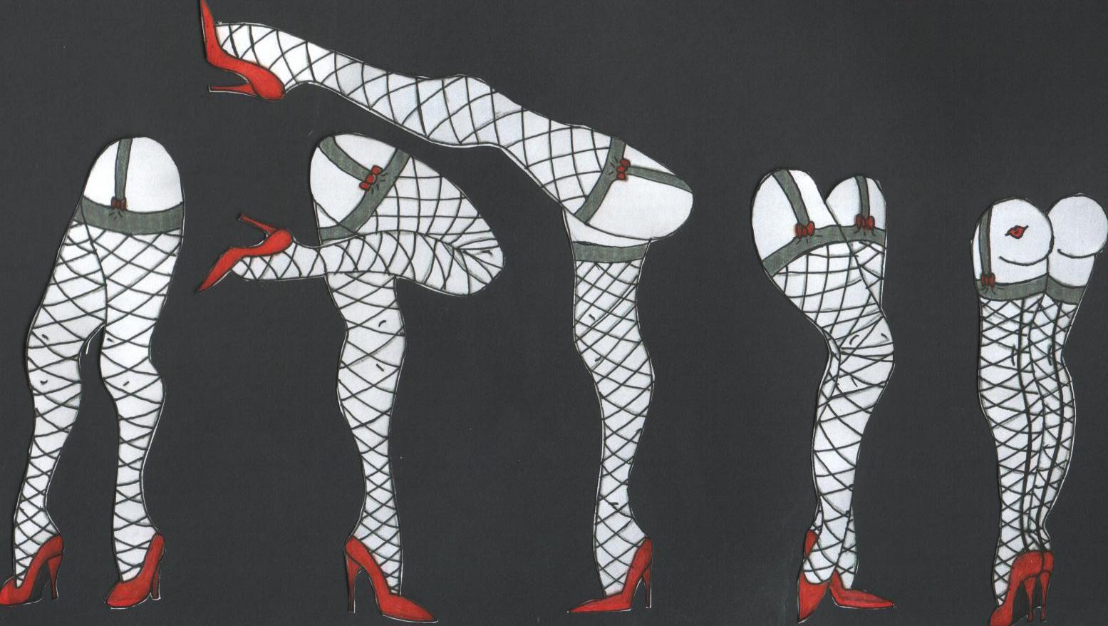 Free Download Rocky Horror Legs By Purrplecatt 1555x878 For Your