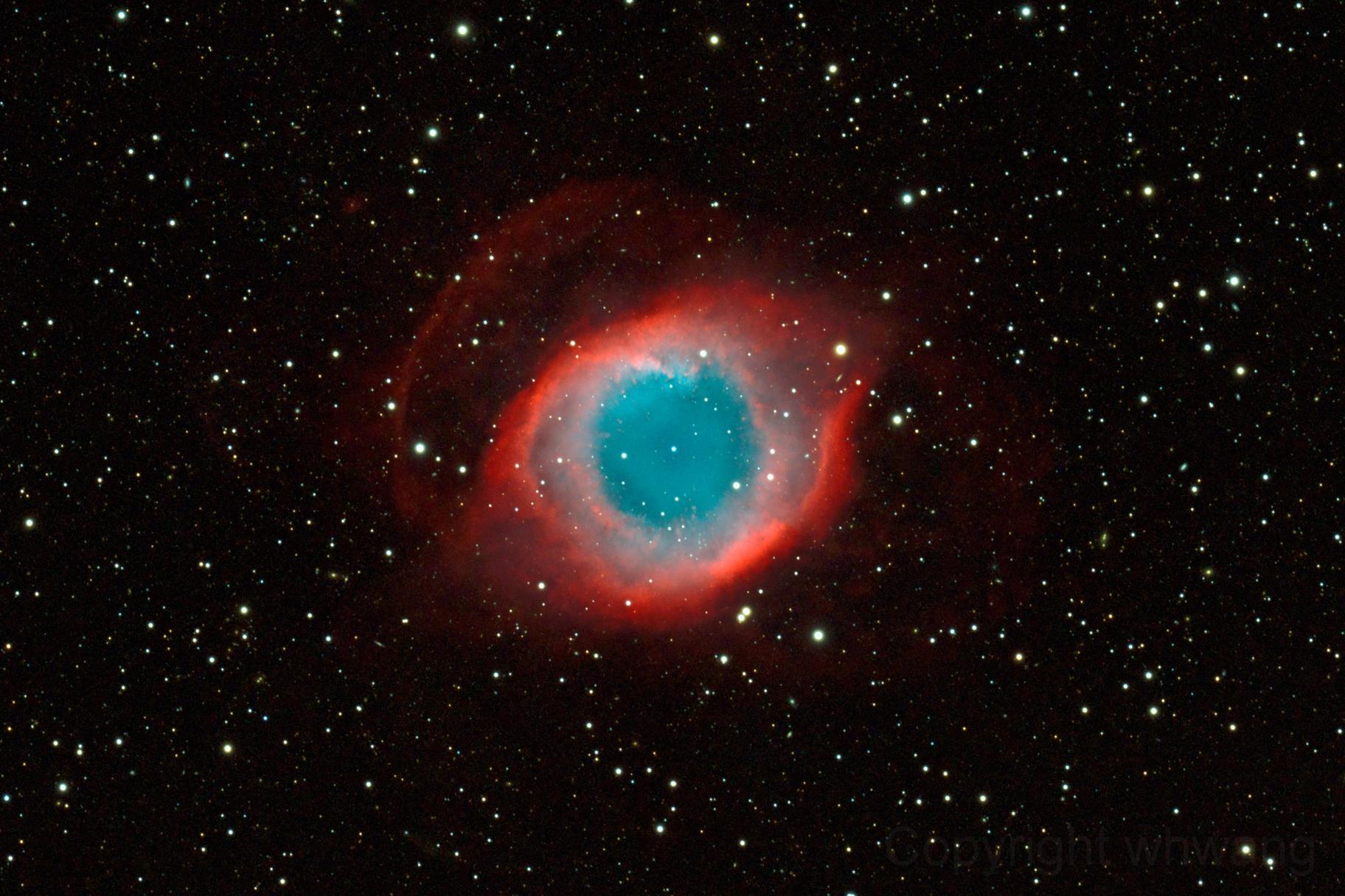 Free Download Pin Helix Nebula Eye Of God Hd Desktop Wallpaper