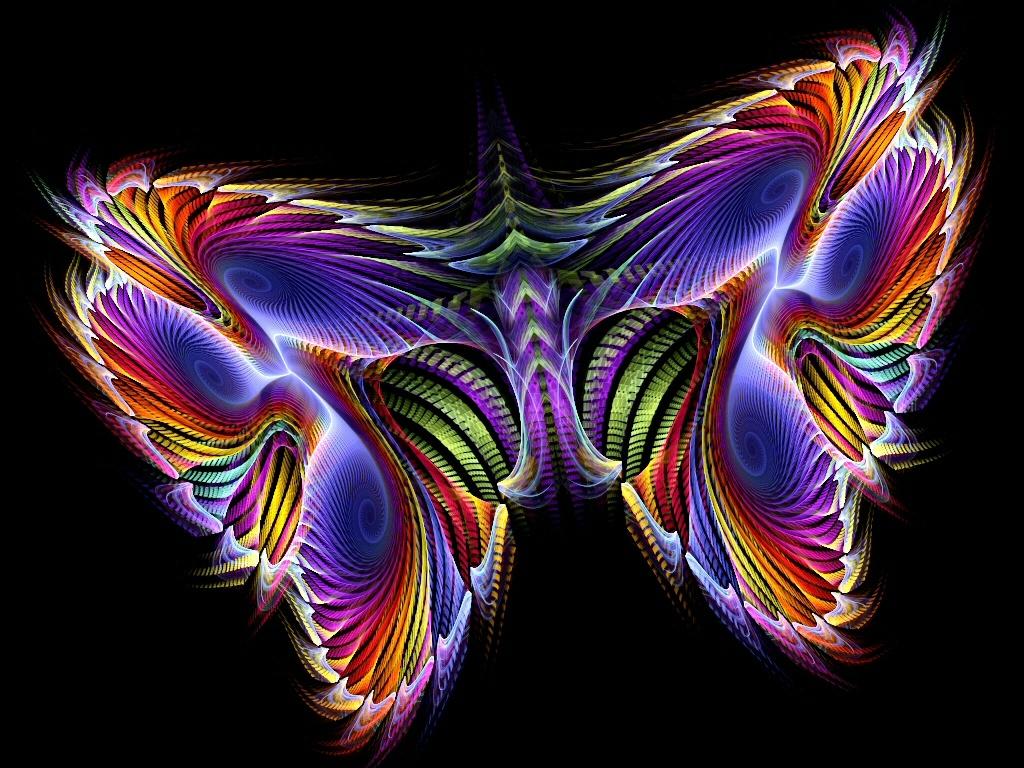 39+ Neon Butterfly Wallpaper on WallpaperSafari