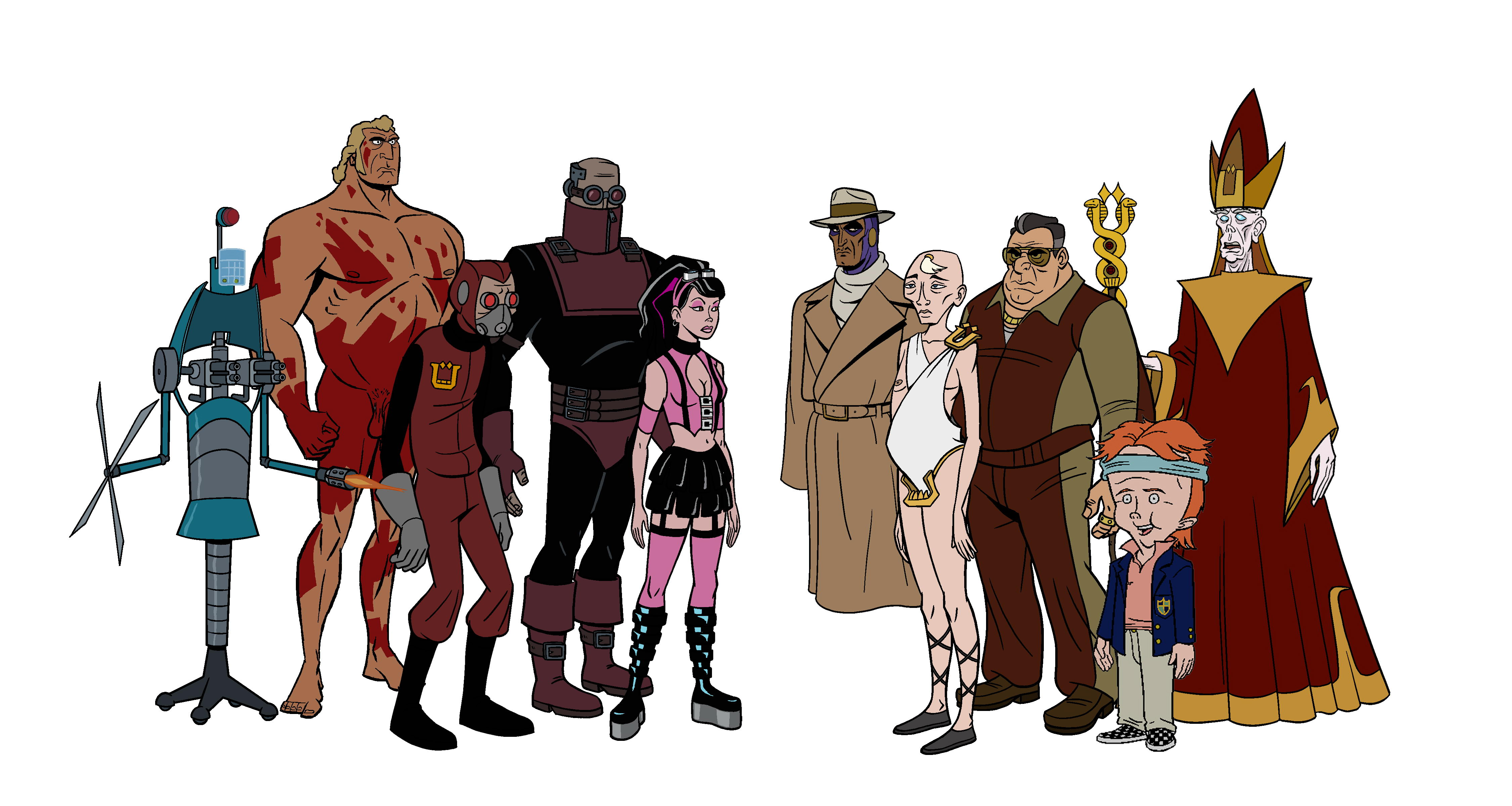 The Venture Bros 4k Ultra HD Wallpaper Background Image 4502x2400