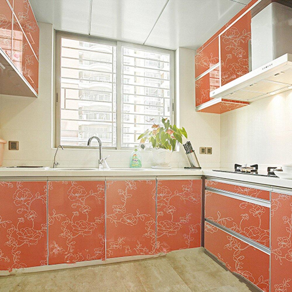 Amazoncom iHappy Vinyl Adhesive Back Kitchen Unit Cupboard Door 1000x1000