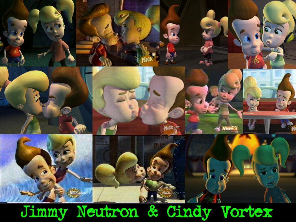Jimmy Neutron and Cindy Vortex   Jimmy and Cindy Forever Wallpaper 1024x768