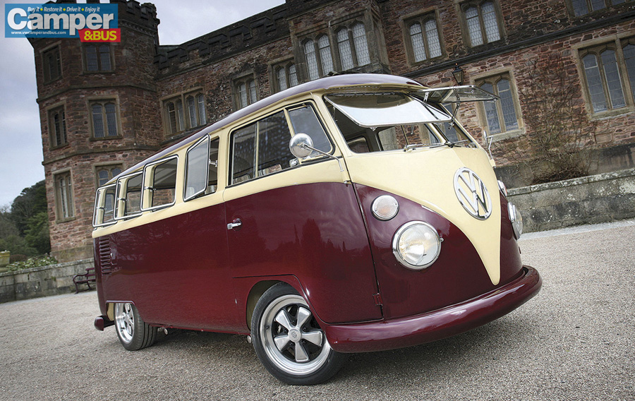 VW Camper Van iphone Wallpaper 900x568