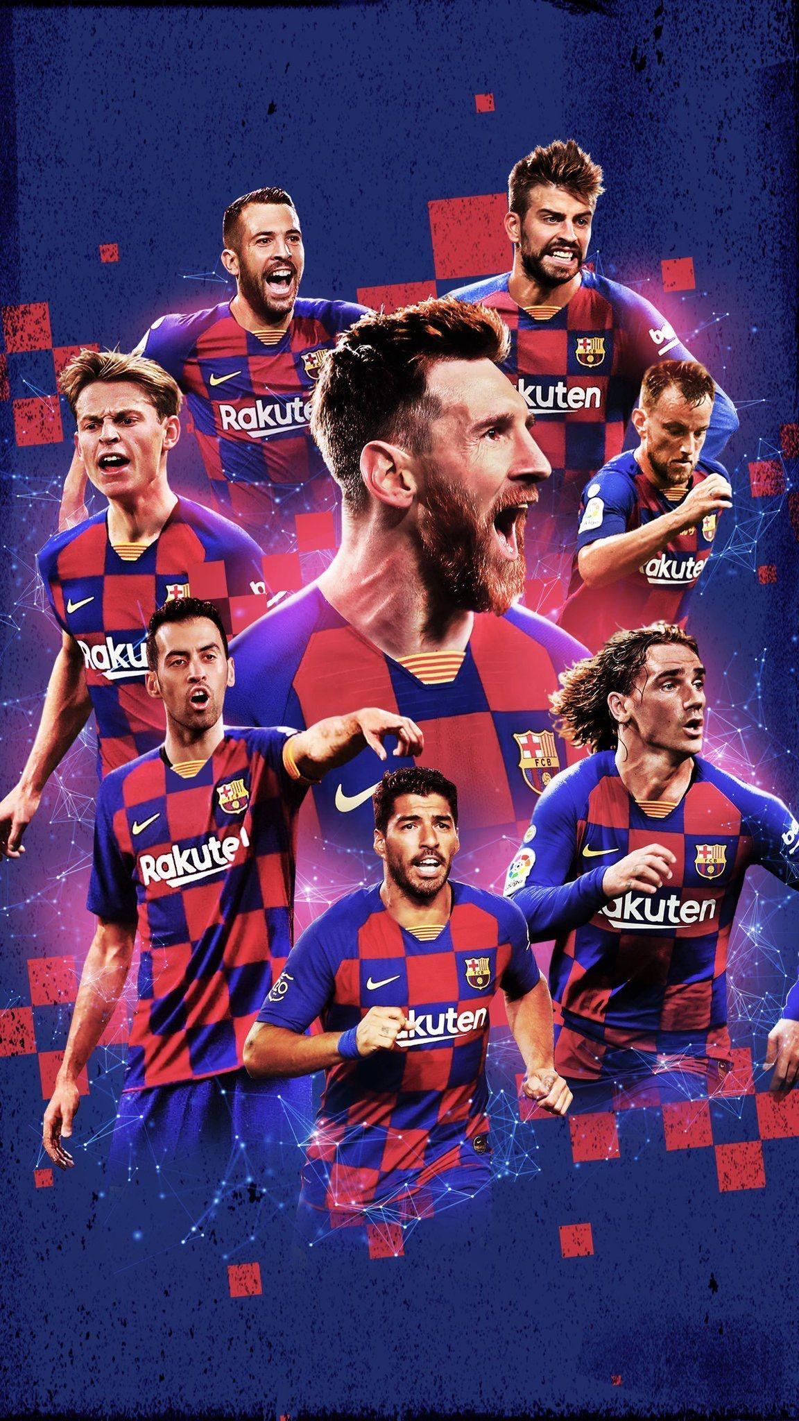 FC Barcelona 2020 Wallpapers 1152x2048