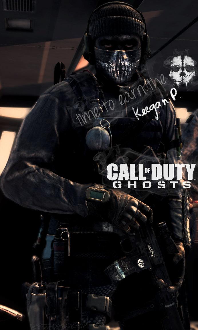 Call of Duty Ghosts   Keegan Phone Wallpaper by IWSFOD D 692x1153
