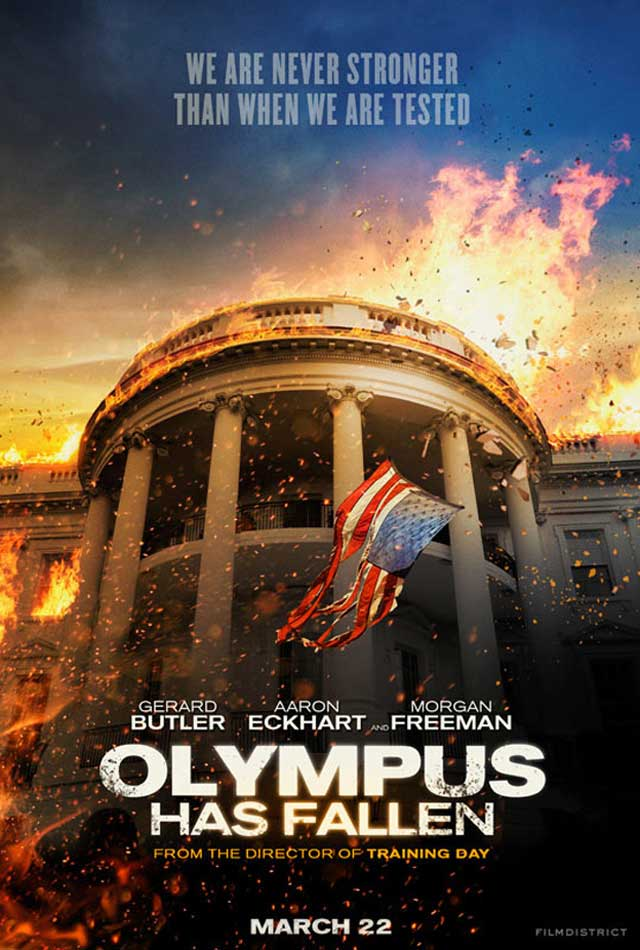 Olympus Has Fallen Movie Wallpaper Olympus has fallen movie 640x950