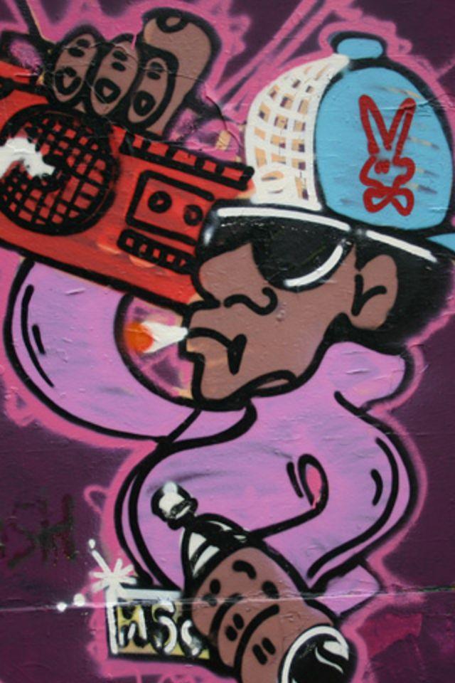 Graffiti Wallpaper 640x960