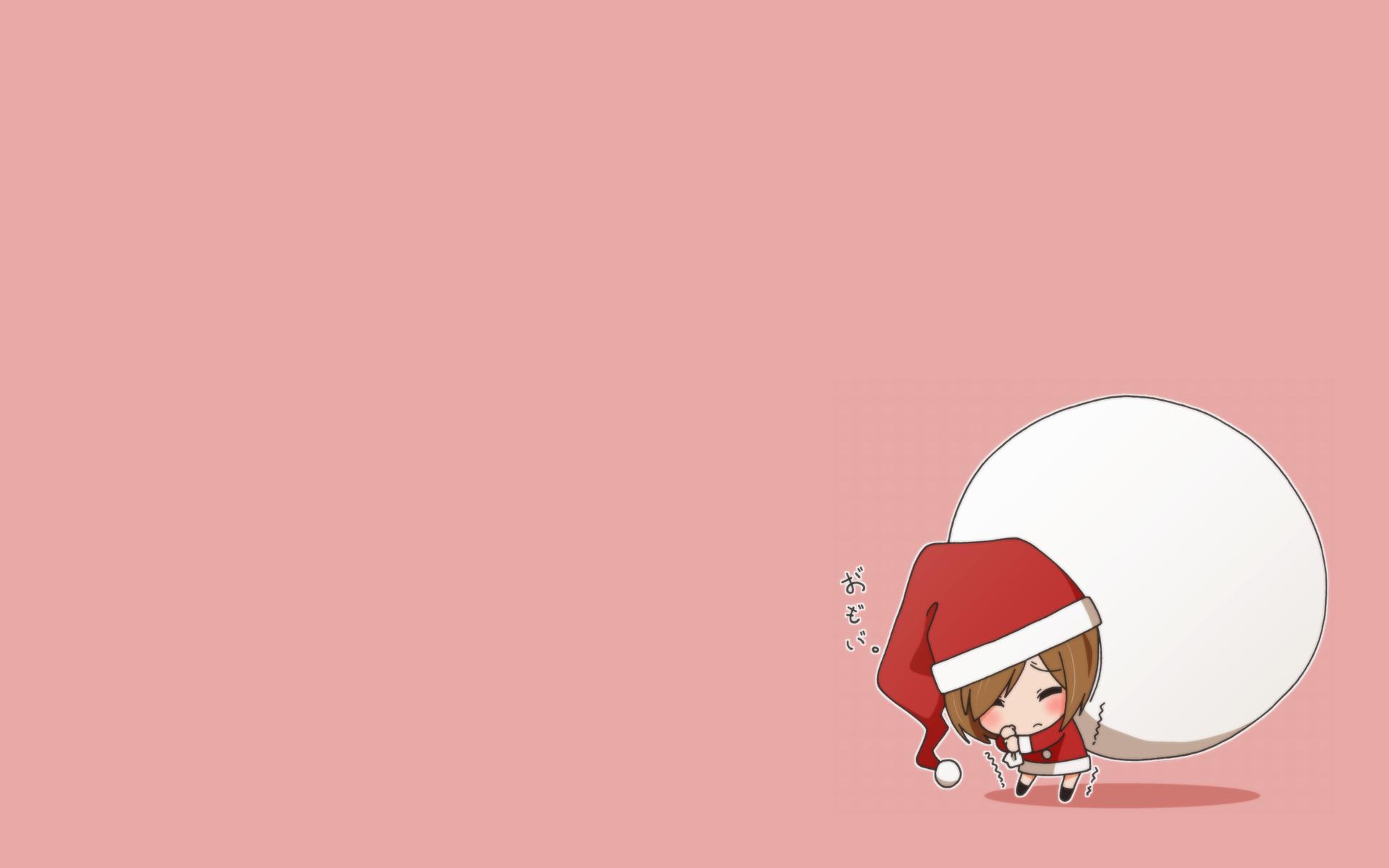 Anime Chibi Christmas wallpaper   296529 1920x1200