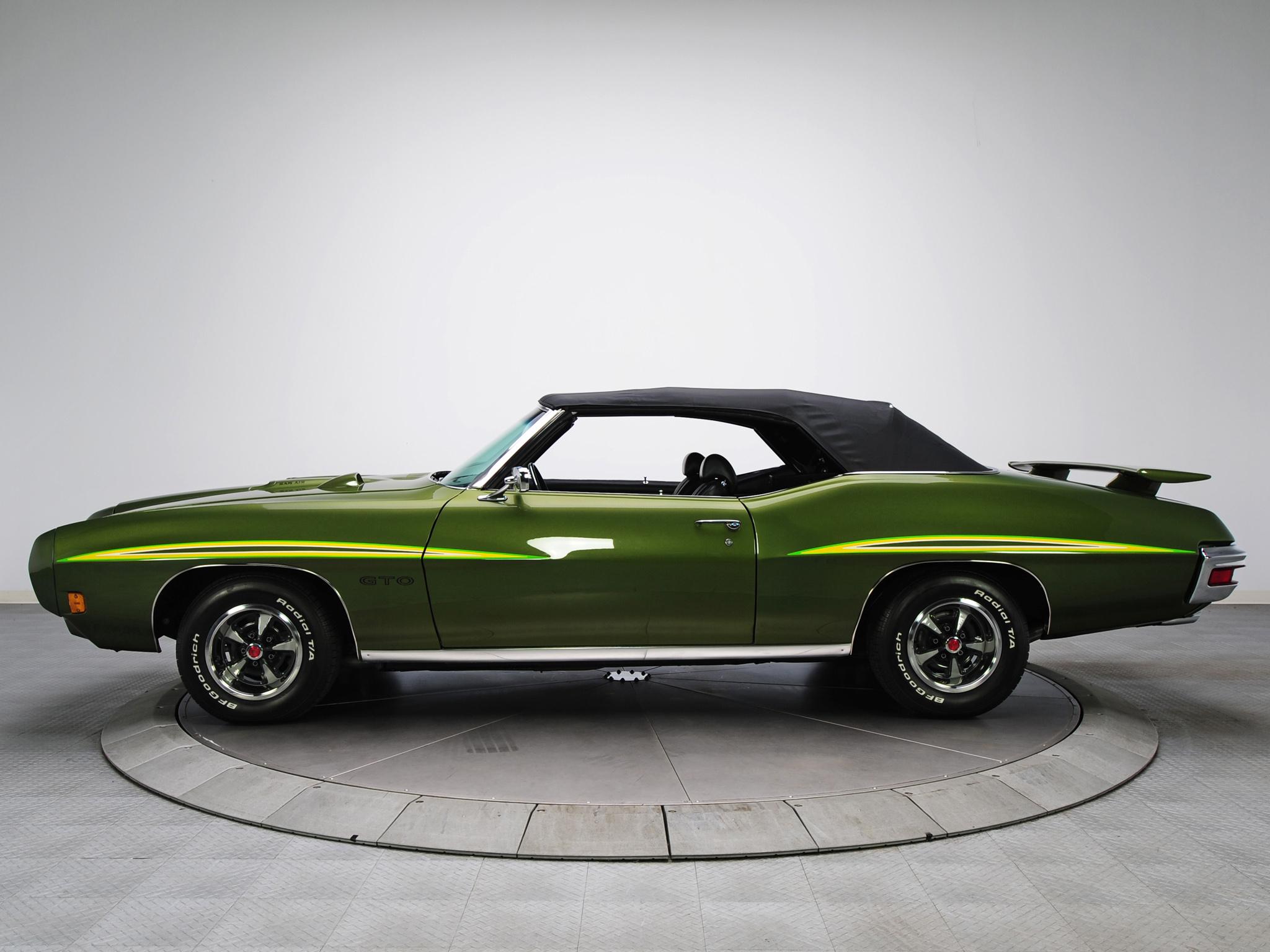 1970 Pontiac GTO Judge Convertible 4267 muscle classic d wallpaper 2048x1536