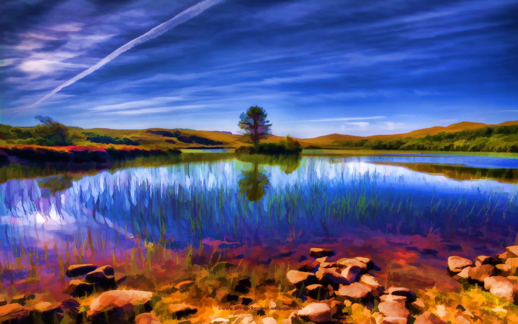 45 Beautiful Widescreen Wallpapers: Beautiful Summer Scenery Wallpaper