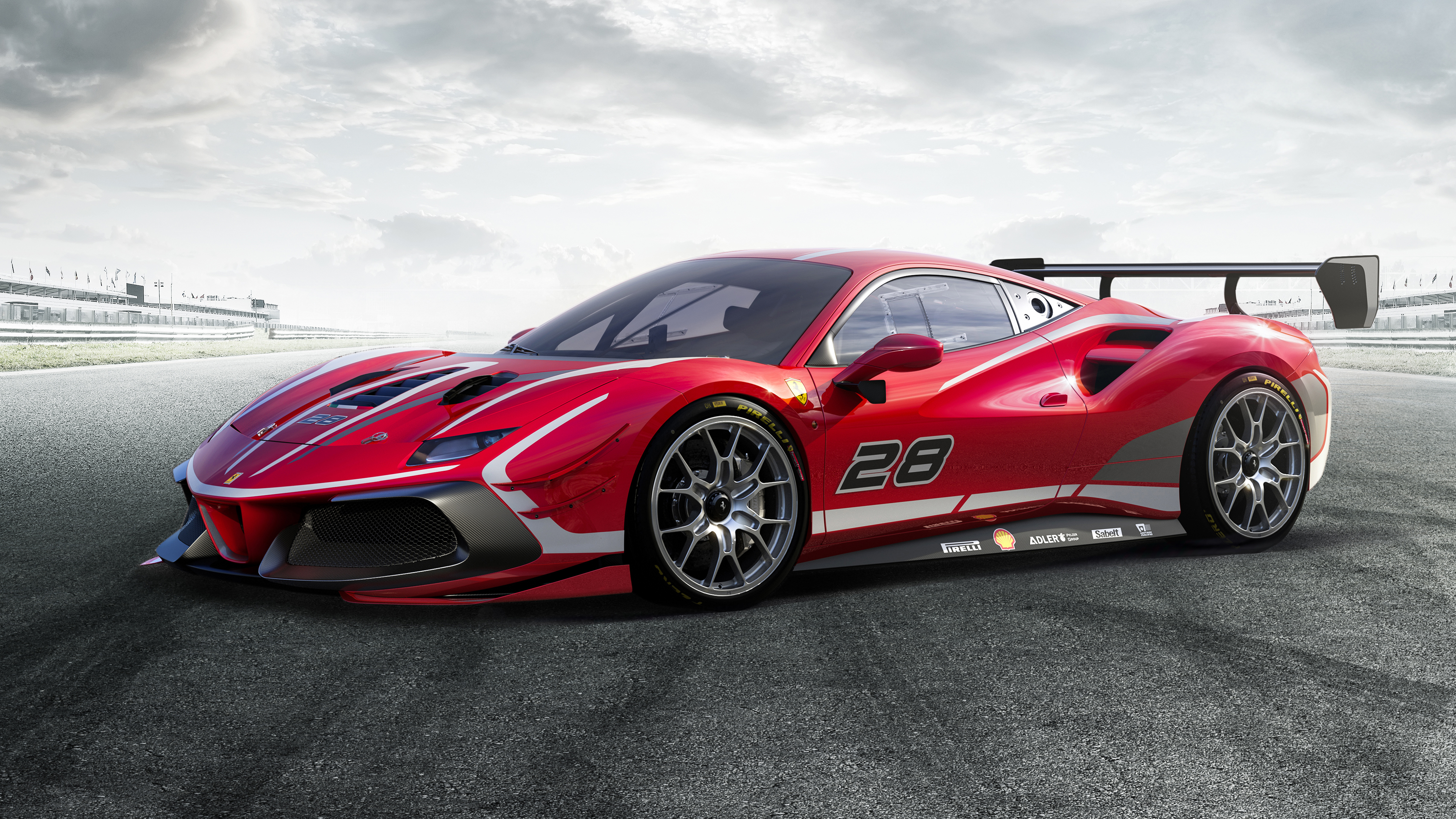 Ferrari 488 Challenge Evo 2020 5K Wallpaper HD Car Wallpapers 5120x2880