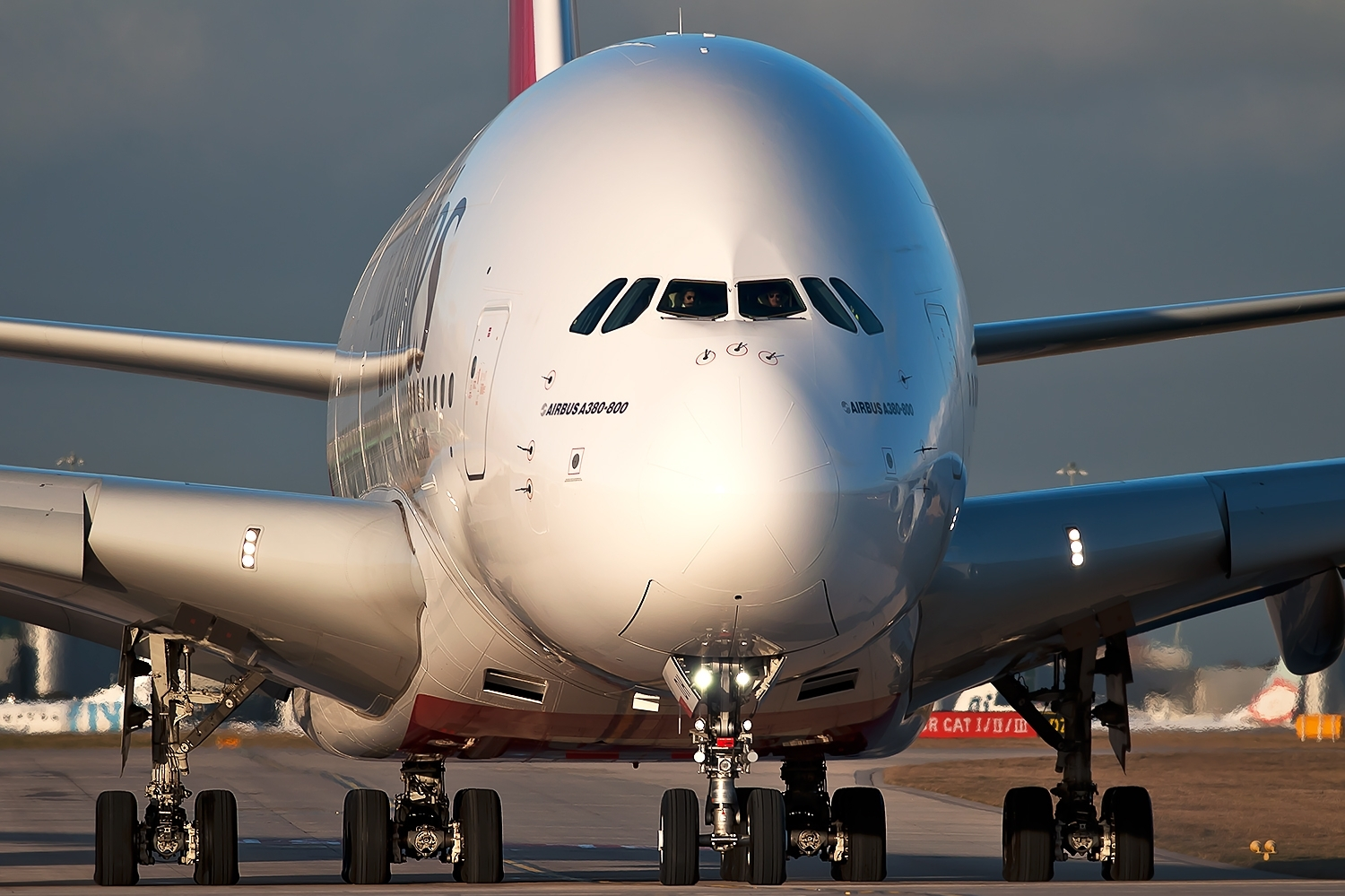 Airbus A380 800 of Emirates While Taxiing Aircraft Wallpaper 2756 1500x999
