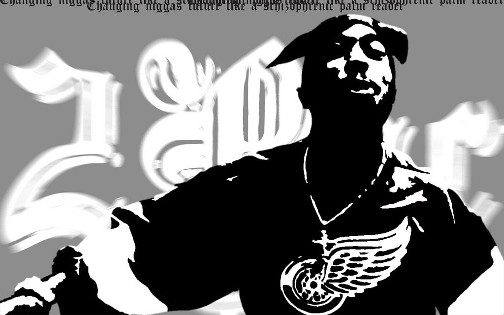 tupac shakur   gangster rapper wallpaper 1024x640