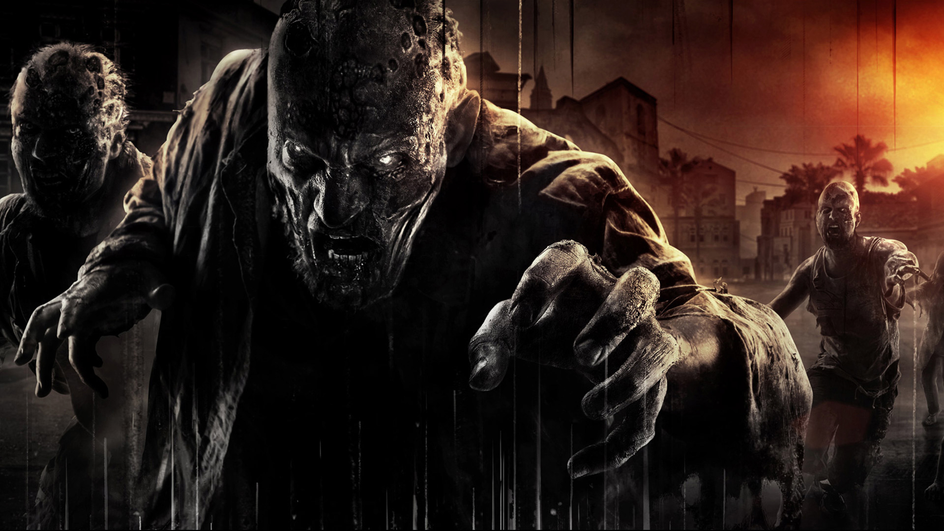 Hd wallpaper zombie - Dying Light Game Hd Zombies 1920x1080