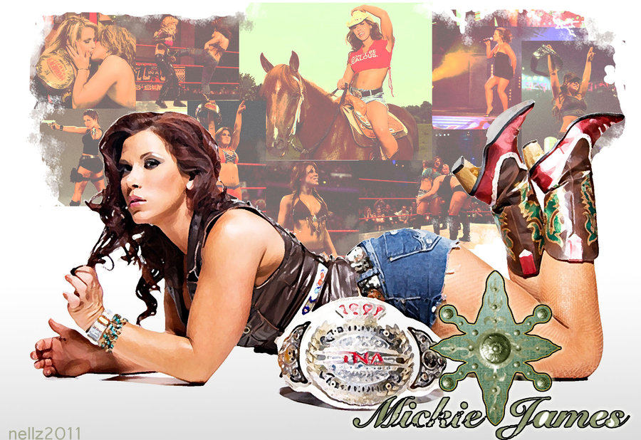 Mickie james by nellz86 900x618