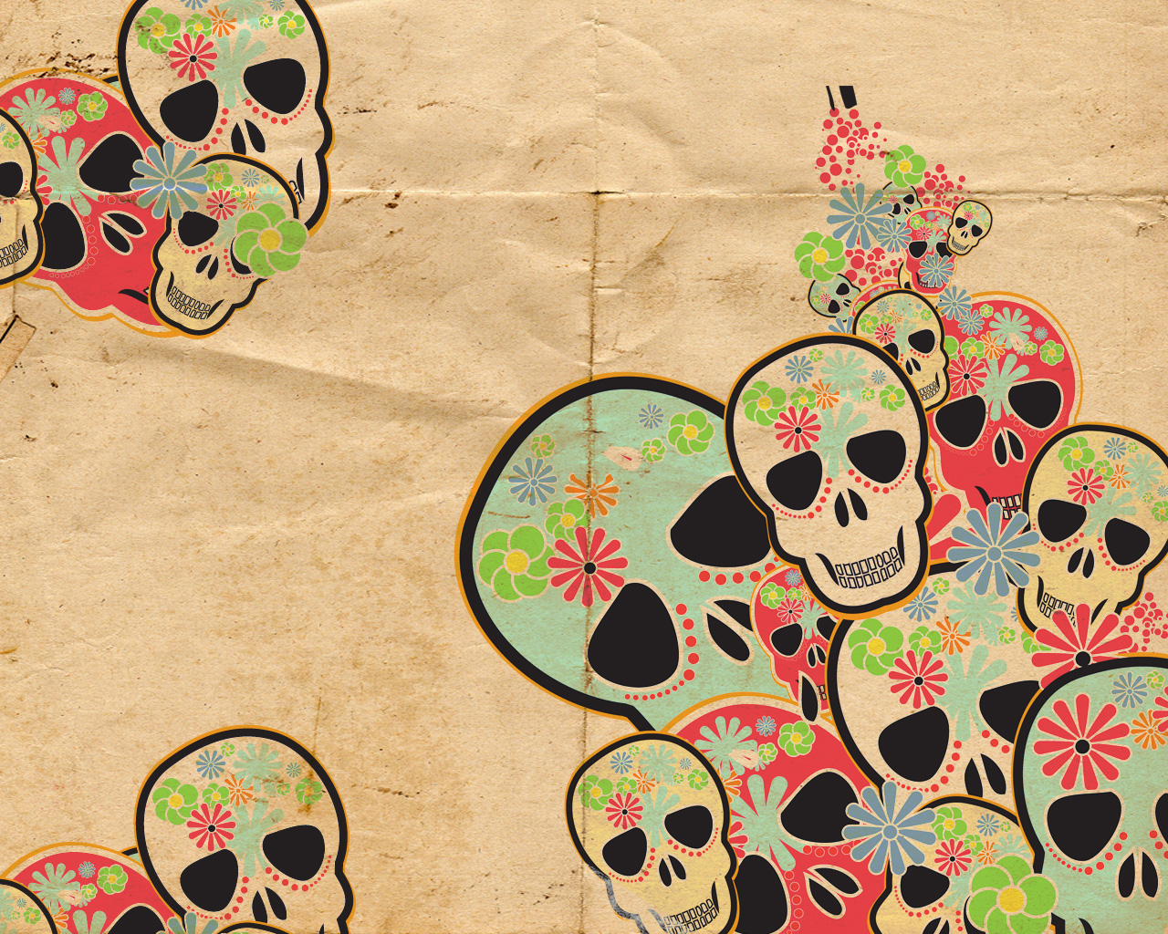 Cool Skull Backgrounds For Girls Images Pictures   Becuo 1280x1024