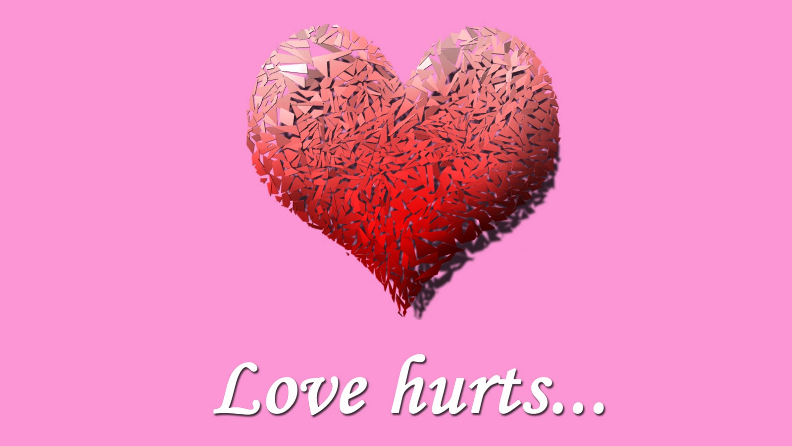 Love Hurts Wallpapers For Girls