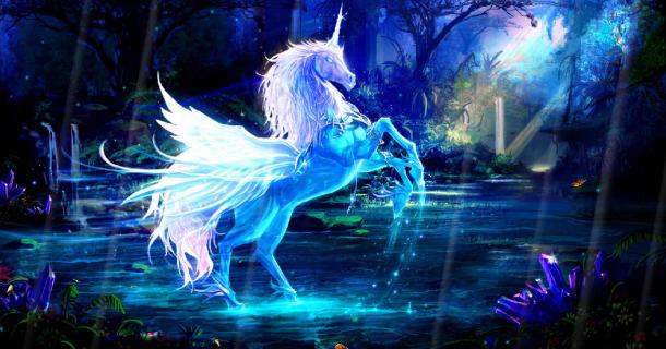 Magic Unicorns Screensaver   Screensavergiftcom 610x320