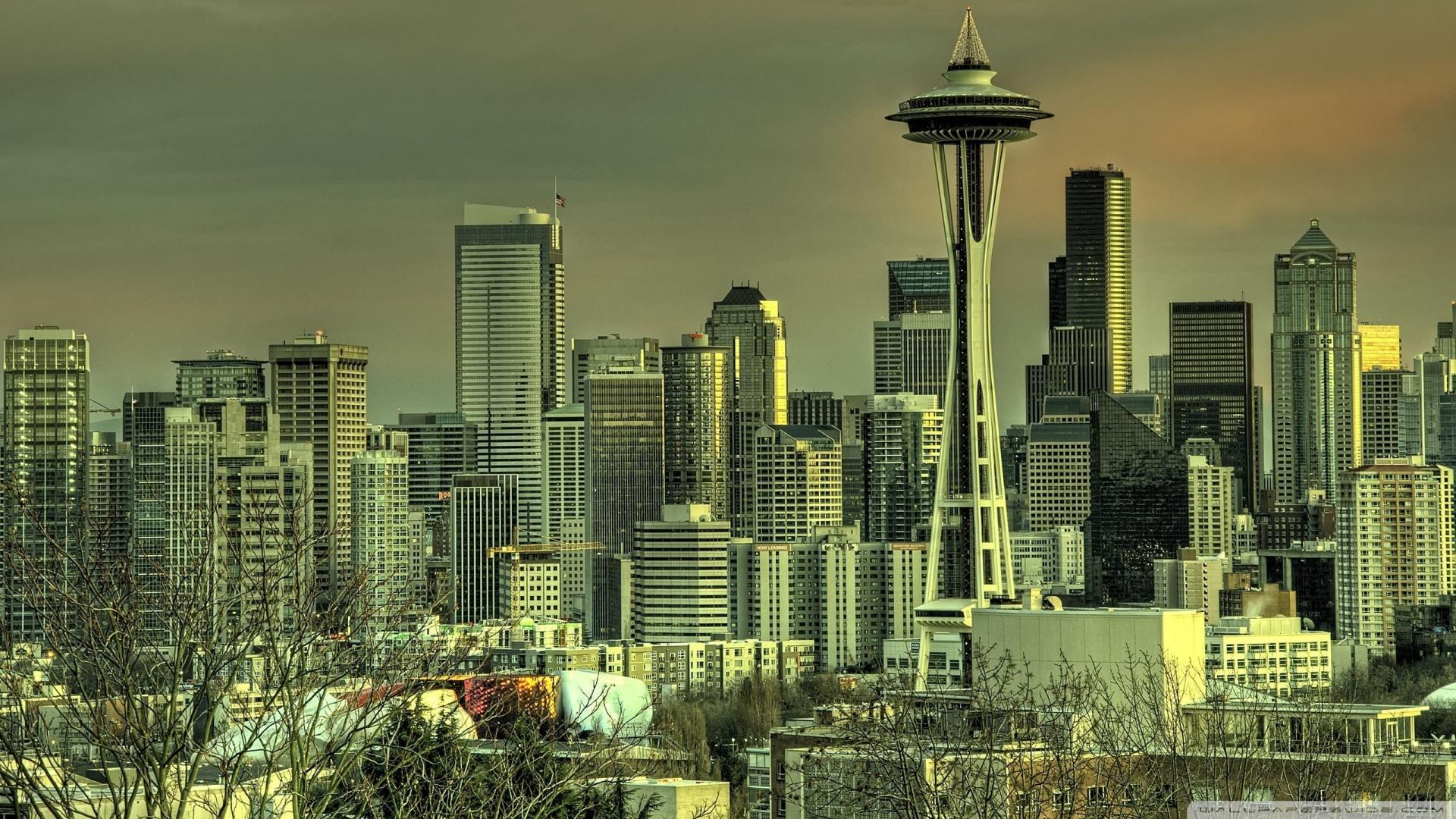 Seattle Tower Wallpaper 1920x1080 Seattle Tower 1920x1080