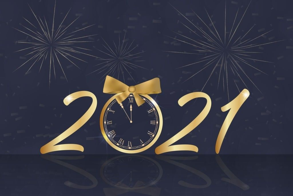 Stunning Happy New Year 2021 Images in 2020 Happy new year 1024x683