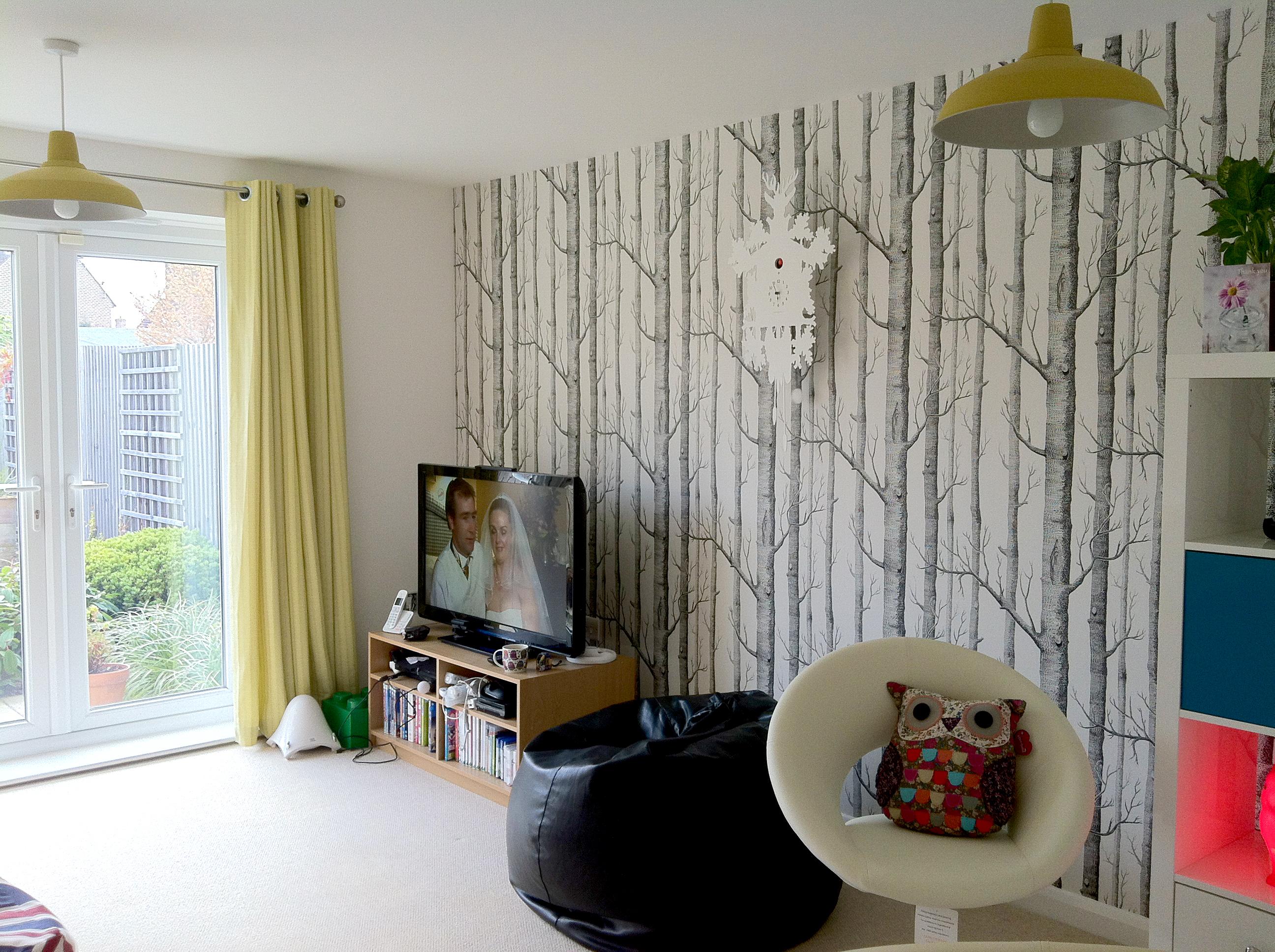 Cole and Son Tree Wallpaper - WallpaperSafari