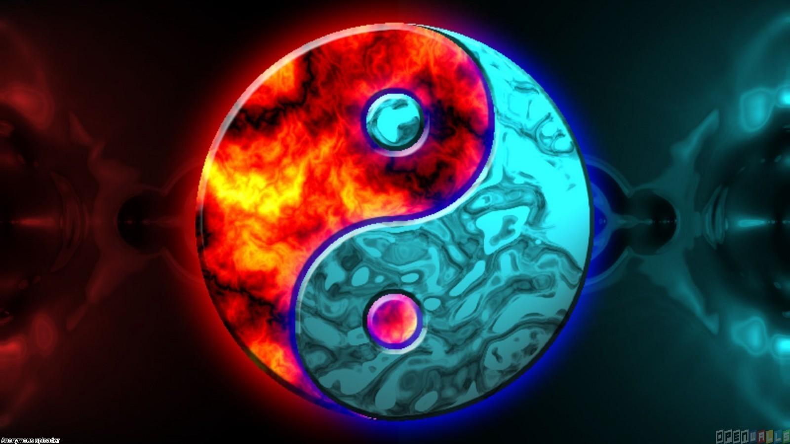 Ying Yang Wallpaper - LiLz.eu - Tattoo DE