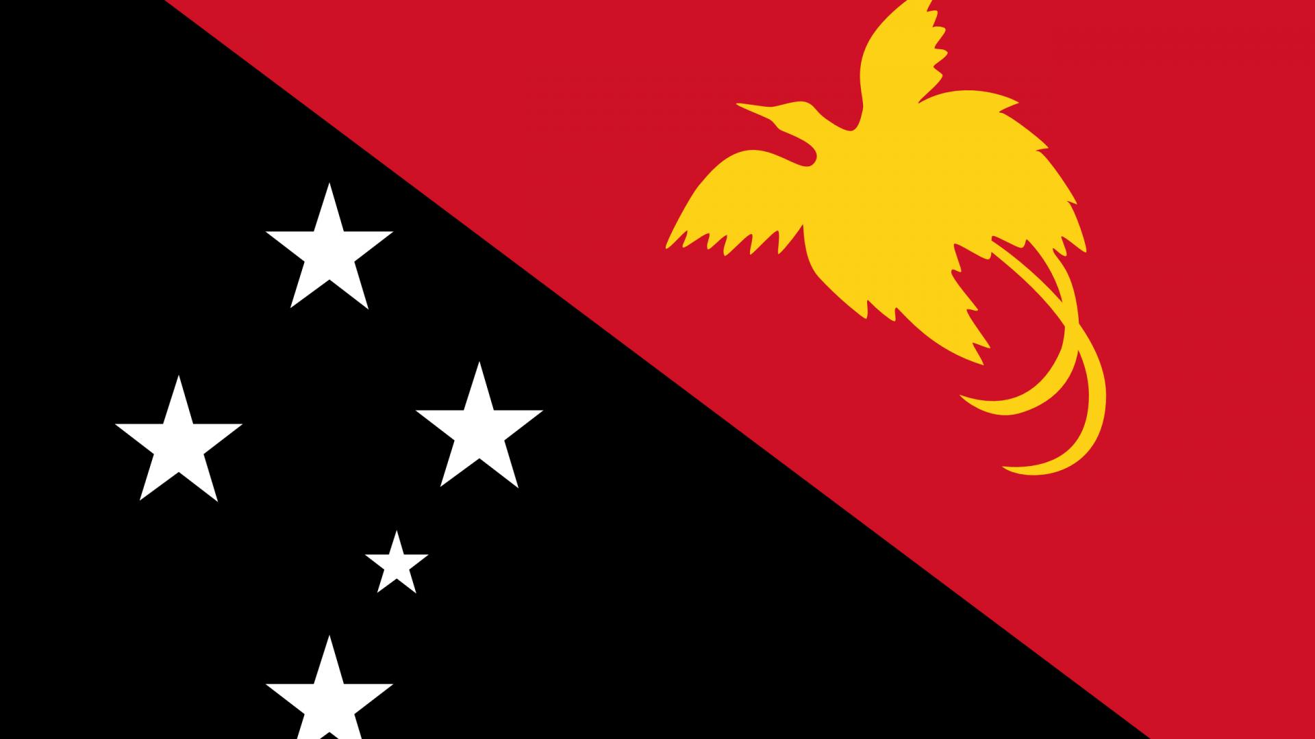 Papua New Guinea Flag   Wallpaper High Definition High Quality 1920x1080