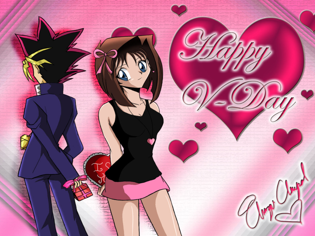 Anime Valentine S Day Wallpaper Wallpapersafari