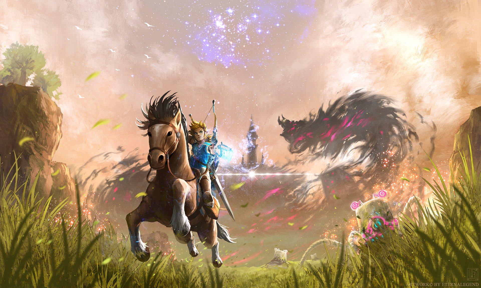 140 The Legend of Zelda Breath of the Wild HD Wallpapers 1920x1152