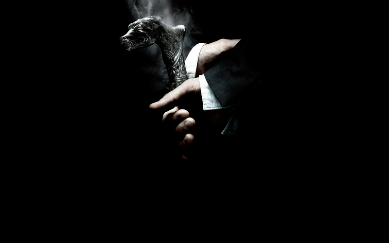 smoke black background wolfman 2560x1600 wallpaper Entertainment 800x500