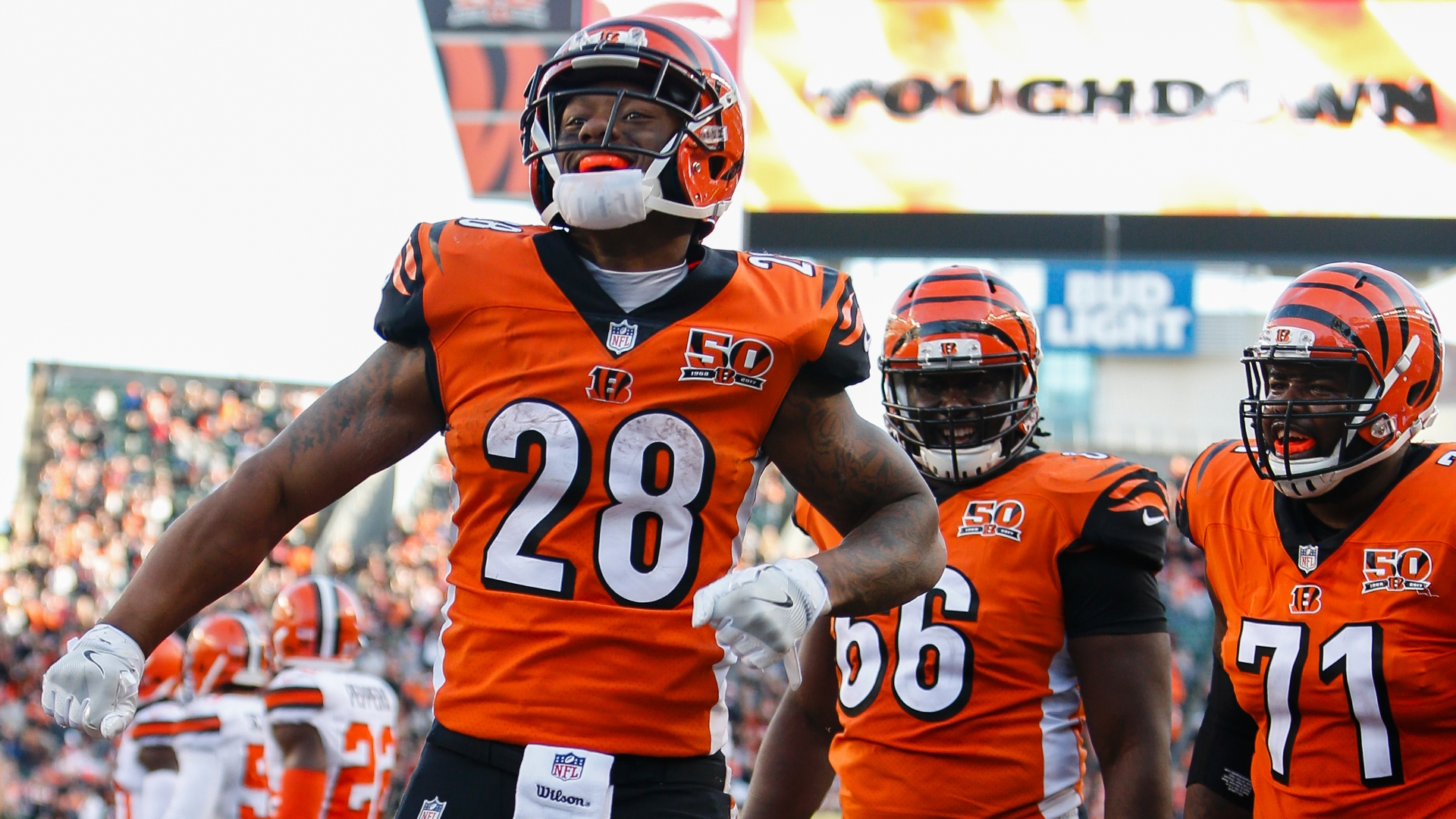 5 NFL Stats to Know Through Week 12   Joe Mixon Has a 7429 Carry 1920x1080