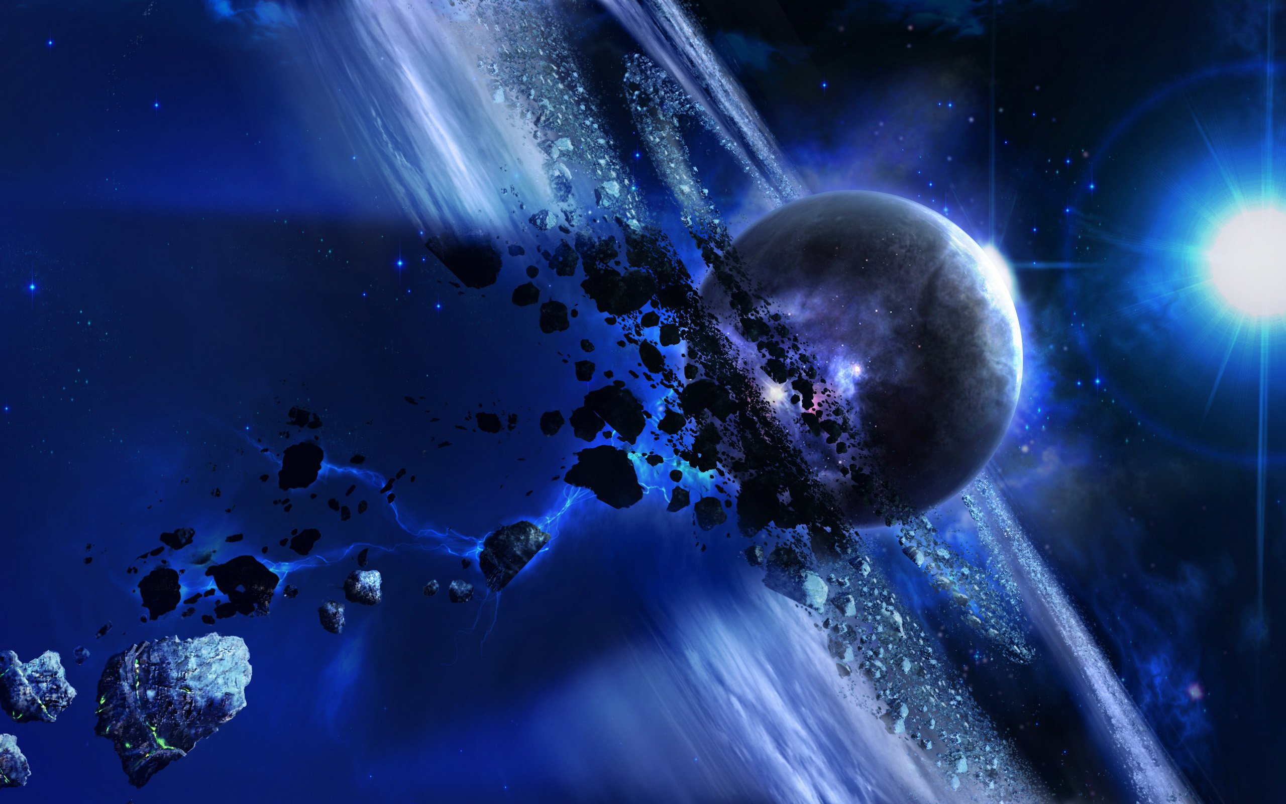 Planet and meteorites wallpapers and images   wallpapers pictures 2560x1600