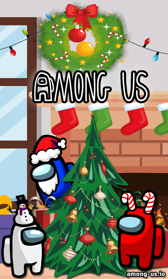 Among Us Christmas Wallpaper iphone christmas Christmas phone 564x936