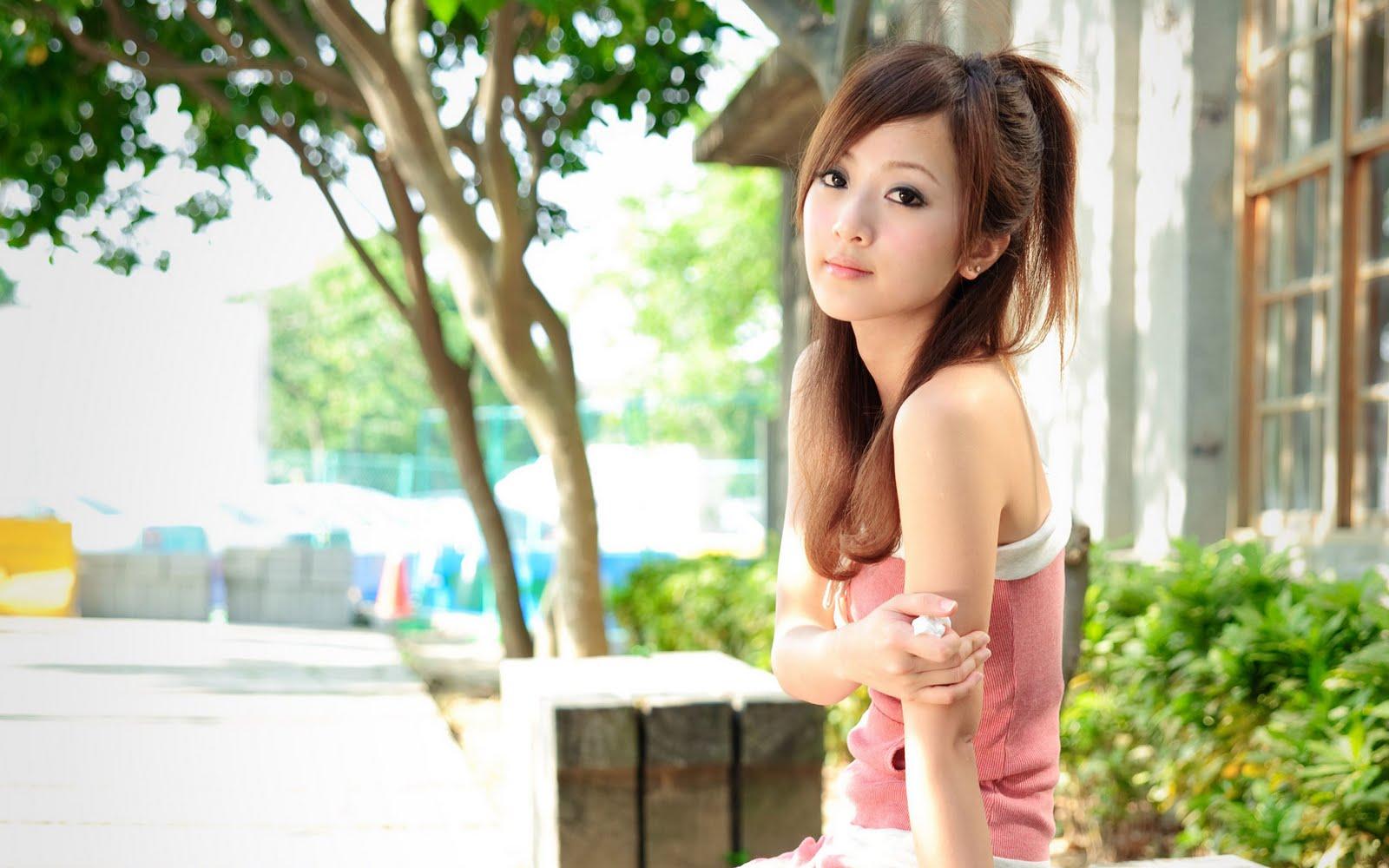 Cute Asian Girls HD Wallpapers HD Wallpapers Backgrounds Photos 1600x1000